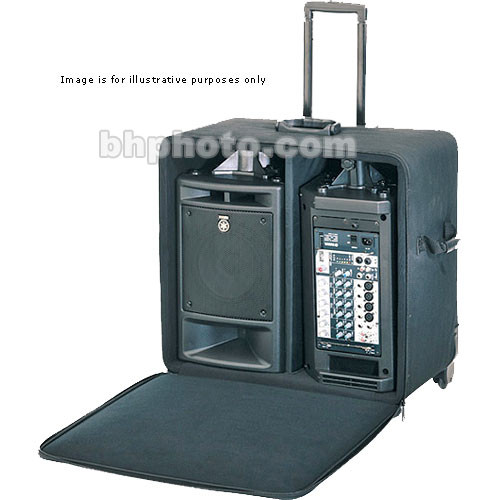 Yamaha ybsp300 stagepas 300 rolling case ybsp300 b h photo for Yamaha stagepas review