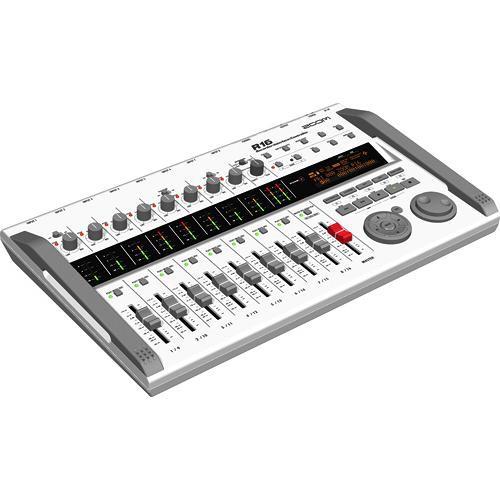 zoom r16 multi track recorder mixer computer zr16 b h. Black Bedroom Furniture Sets. Home Design Ideas