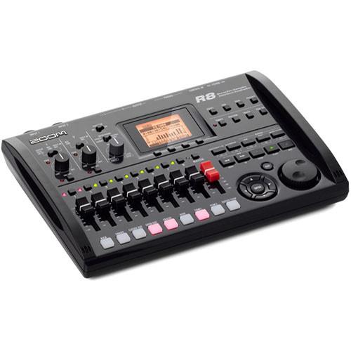 zoom r8 8 track digital recorder interface controller sampler. Black Bedroom Furniture Sets. Home Design Ideas