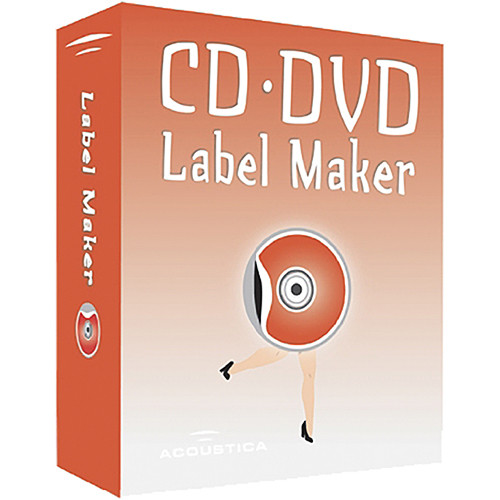 acoustica cd  dvd label maker software for windows acta2 b u0026h