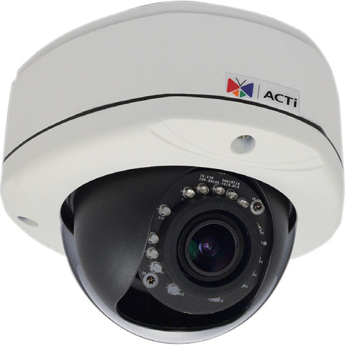 ACTi E84 2MP IR Day/Night Outdoor IP Dome Camera with SLLS ...