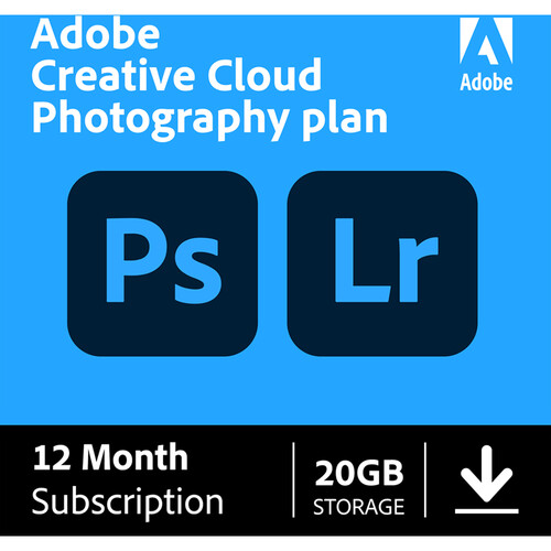adobe creative cloud photography plan with 20gb cloud 65259312