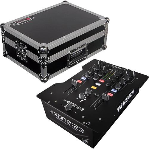 allen heath xone 23 2 channel dj mixer kit with hard case b h. Black Bedroom Furniture Sets. Home Design Ideas
