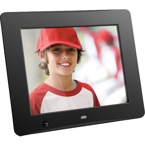 aluratek 8 digital photo frame with motion sensor and 4gb built in memory