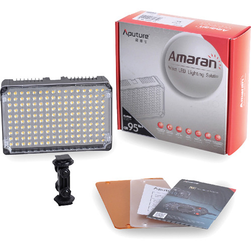 aputure amaran al h160 on led light al h160 b amp h photo 87876