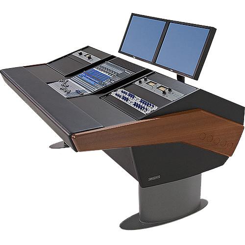 Argosy G20 Desk For Presonus Studiolive 16 4 2 Workstations With Dual 9 Ru Mahogany