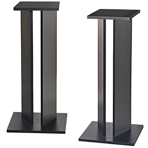 "Argosy Classic Monitor Speaker Stands 8"" (Pair, Black)"