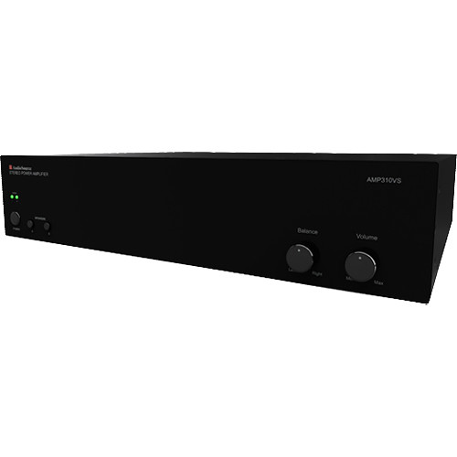 audiosource amp series 150w stereo power amplifier amp310vs b h. Black Bedroom Furniture Sets. Home Design Ideas