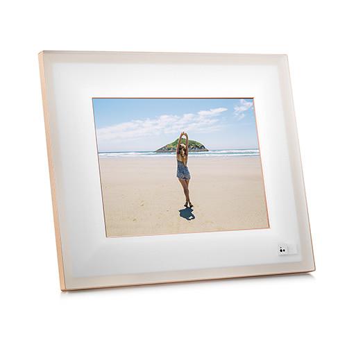 Aura Frames 97 Smart Frame Ivoryrosegold Bh Photo Video