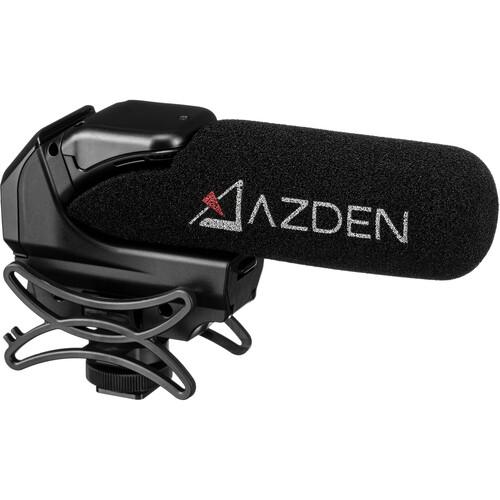 azden smx 15 powered shotgun video microphone