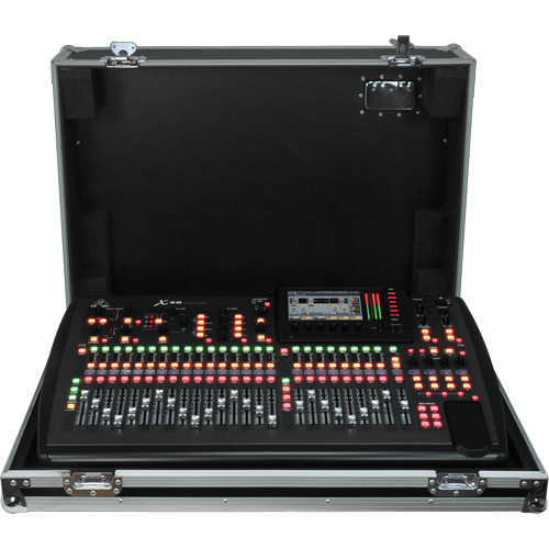 Behringer x32 tp digital mixer touring package x32 tp b h for Firewire mixer motorized faders