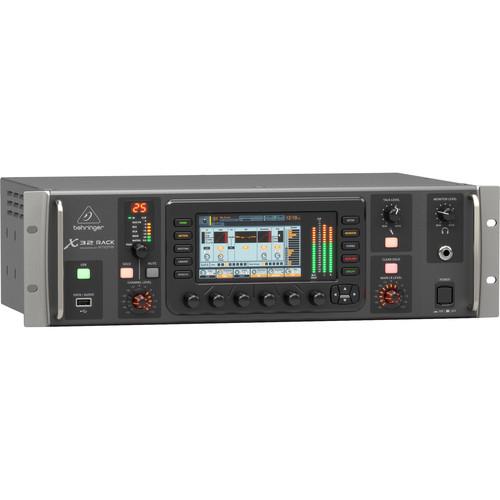 Behringer X32 Rack 40-Input, 25-Bus Digital Mixer X-32 ...