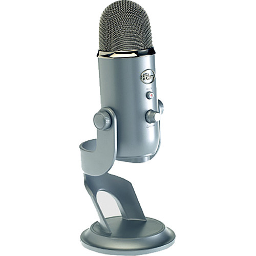 blue yeti usb microphone platinum yeti platinum b h photo video. Black Bedroom Furniture Sets. Home Design Ideas