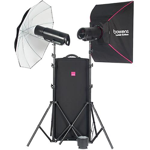 Bowens Esprit 500 Studio Lighting Kit: Bowens XMS500 2-Light Flash Kit BW-5330US B&H Photo Video