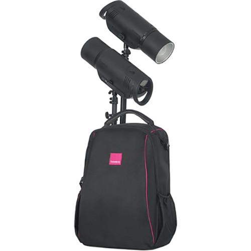 Bowens Esprit 500 Studio Lighting Kit: Bowens XMT500 2-Light Battery-Powered Flash Kit BW-5430US B&H