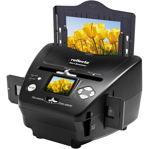 Braun Novoscan 3 In 1 Film And Photo Scanner 34521 Bh Photo