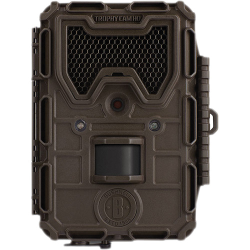 bushnell 8mp trophy cam hd max trail camera with no glow 119678c. Black Bedroom Furniture Sets. Home Design Ideas