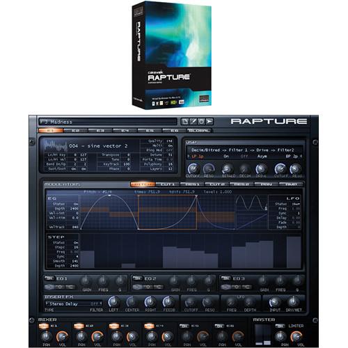cakewalk rapture virtual synthesizer download rh bhphotovideo com cakewalk sonar user manual Owner's Manual