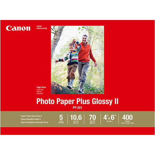 Canon Pp 301 Photo Paper Plus Glossy Ii 1432c007 Bh Photo Video