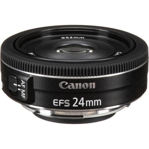 canon ef s 24mm f 2 8 stm lens 9522b002 b h photo video. Black Bedroom Furniture Sets. Home Design Ideas
