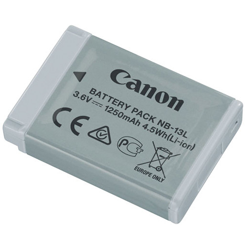 Canon Nb 13l Lithium Ion Battery Pack 3 6v 1250mah 9839b001
