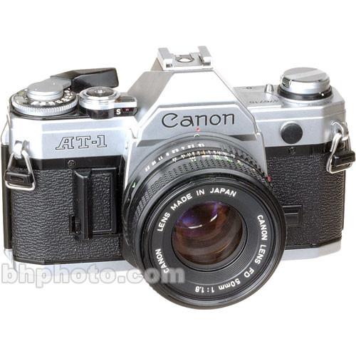 used canon at 1 35mm manual focus slr camera chrome with 50mm rh bhphotovideo com Canon PC 420 Copier Canon PC 420 Copier