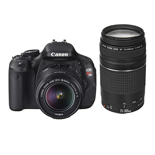 canon eos rebel t3i dslr camera with 18 55mm and 75 300mm lens rh bhphotovideo com EOS Rebel T3i Manual EOS Rebel T3i Body