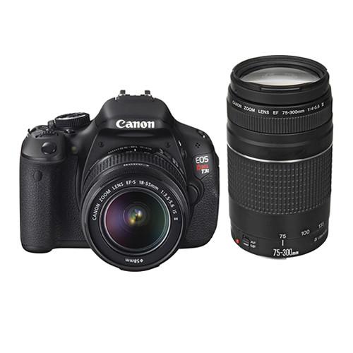 canon eos rebel t3i dslr camera with 18 55mm and 75 300mm lens rh bhphotovideo com Canon EOS Rebel T3i Books Canon EOS Rebel Manual