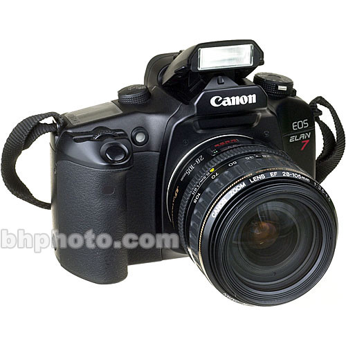 used canon eos elan 7 35mm slr af camera with 28 90mm f 4 5 6 rh bhphotovideo com Canon EOS Elan canon elan 7e instruction manual