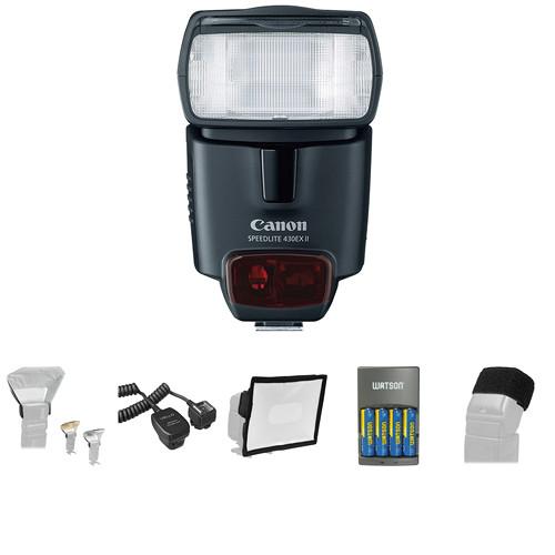 canon speedlite 430ex ii deluxe kit b h photo video rh bhphotovideo com 430EX II Flashing Red-Light 430EX II Flashing Red-Light