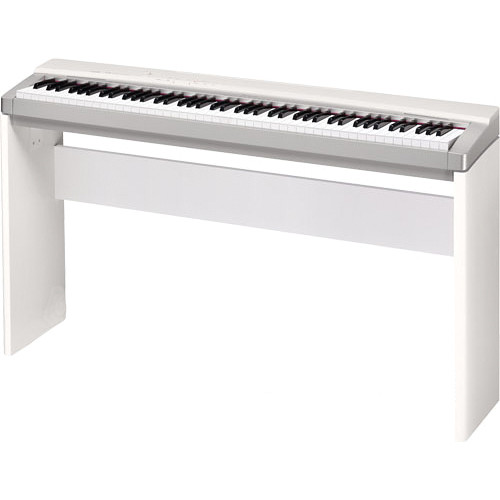 casio cs 67 privia keyboard stand white cs67we b h photo video. Black Bedroom Furniture Sets. Home Design Ideas