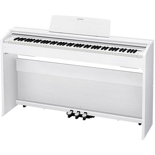 c86a93ba64c Casio PX-870WE Privia 88-Key Digital Piano (White) PX870WE B H