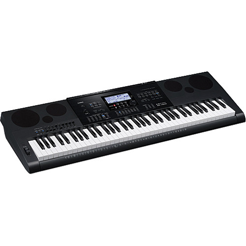 casio wk 7600 workstation keyboard with sequencer and wk 7600 rh bhphotovideo com