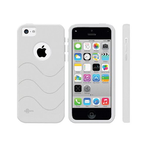 CellSafe Silicone Case for iPhone 5c (White) CSIP5C/W B&H ...