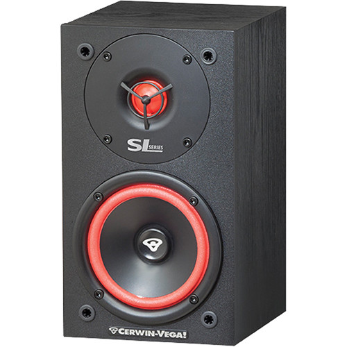 Cerwin Vega SL 5M 525 2 Way Bookshelf Speakers
