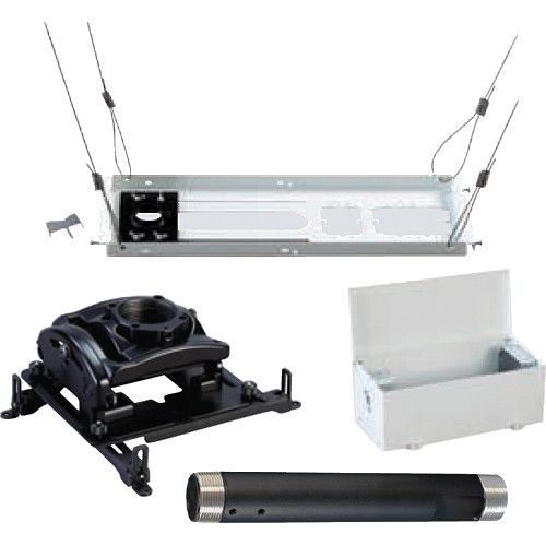 Chief Projector Ceiling Mount Kit White Kites003pw B Amp H Photo