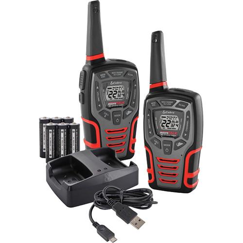 Cobra Cxt545 Rugged Walkie Talkie 28 Mile 2 Way Radio