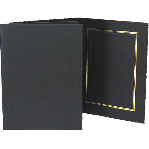 Collector S Gallery Classic Black Folder With Gold