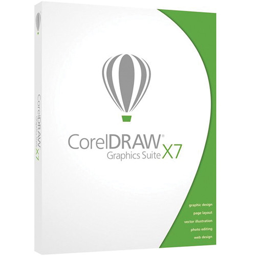 Corel Coreldraw Graphics Suite X7 Upgrade Esdcdgsx7amug B H