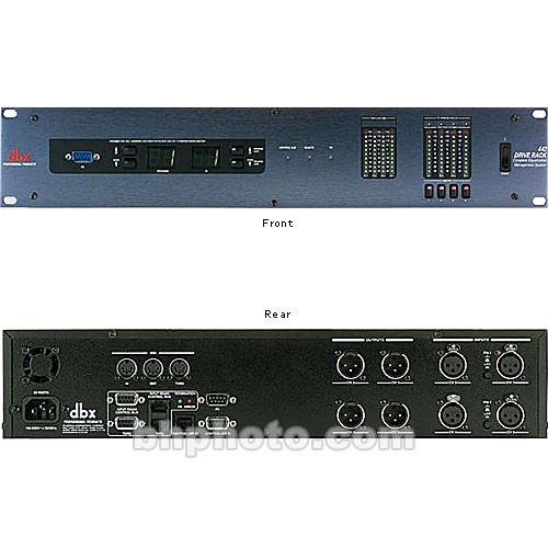 dbx driverack 442 loudspeaker management system 442 b h photo. Black Bedroom Furniture Sets. Home Design Ideas