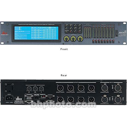 dbx driverack 480 loudspeaker management system 480 b h photo. Black Bedroom Furniture Sets. Home Design Ideas