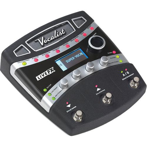 digitech vocalist live fx foot pedal vocal processor vlfx 04 b h. Black Bedroom Furniture Sets. Home Design Ideas
