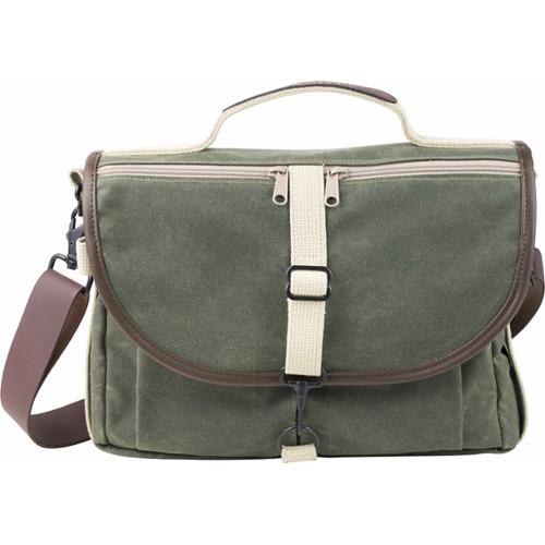 Domke F 803 Ruggedwear Messenger Bag Military Green Brown Trim