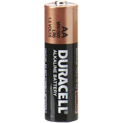 duracell 1 5v aa coppertop alkaline batteries mn1500bkd b h. Black Bedroom Furniture Sets. Home Design Ideas