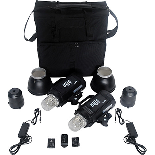Dynalite baja b4 battery powered 2 monolight kit bk4 2200b b h - Fax caser bajas ...