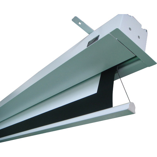 Elite screens 135 evanesce in ceiling ite135hw2 e8 b h for Tab tensioned motorized projection screen