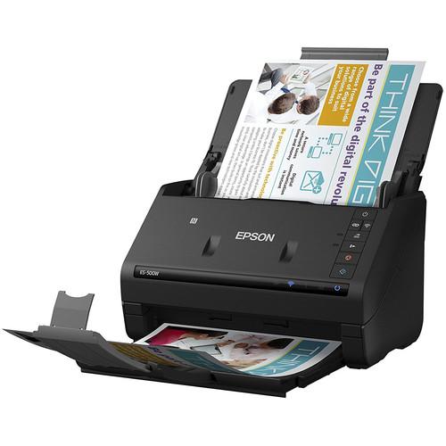 epson workforce es 500w wireless duplex document With workforce es 500w wireless duplex document scanner