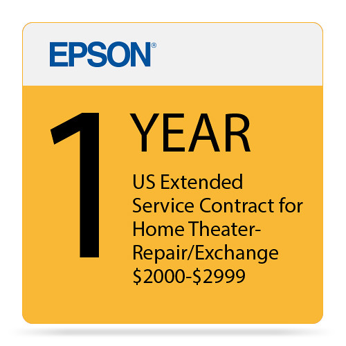 Epson 1-Year Us Extended Service Contract For Home Eppsnphtrg1