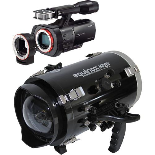 Equinox HD8X Underwater Housing with Sony NEX-VG900 Full-Frame