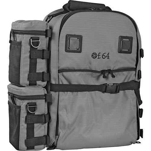 f.64 BP Large Backpack (Gray) BPG B&H Photo Video